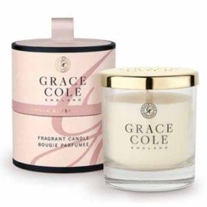 Vanilla Blush & Peony Fragrant Candle