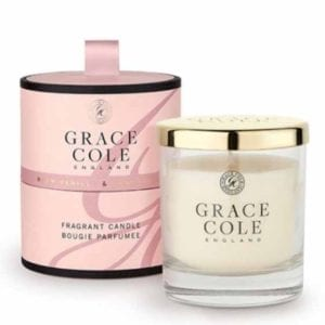 Warm Vanilla & Sandalwood Fragrant Candle