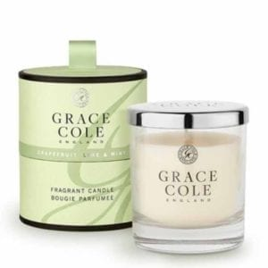 Grapefruit, Lime and Mint Fragrant Candle