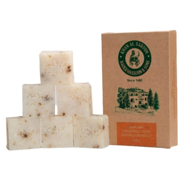 Chamomile soap pack 6